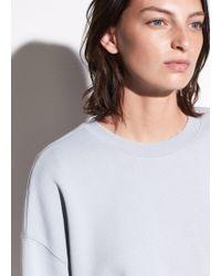 Vince | Pullover Cotton Sweatshirt | Lyst
