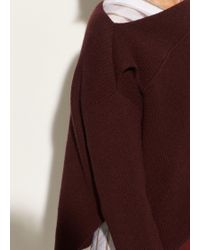 Vince - Asymmetrical Ribbed Pullover - Lyst