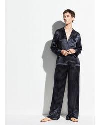Vince - Pajama Shirt - Lyst
