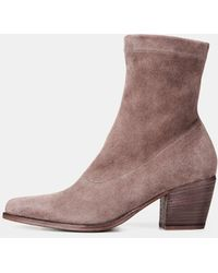 Vince - Hayek Suede Ankle Boot - Lyst