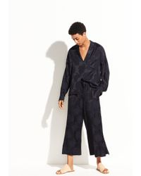 Vince - Jacquard Pyjama Popover - Lyst