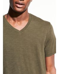Vince - V-neck T-shirt - Lyst