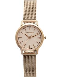 Vince Camuto - Rose-goldtone Mesh-band Watch - Lyst