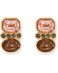 Vince Camuto - Mix Stone Earrings - Lyst