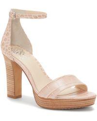 Vince Camuto - Sathina – Platform Sandal - Lyst