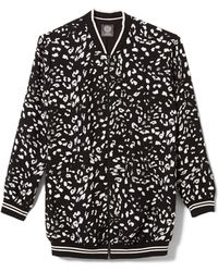 Vince Camuto - Animal Whispers Bomber Jacket - Lyst