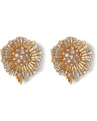 Vince Camuto - Flower Clip-on Earrings - Lyst