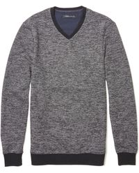 Vince Camuto - Marled V-neck Sweater - Lyst