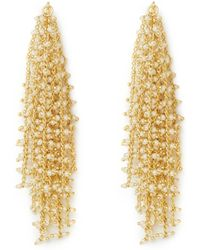 Vince Camuto - Goldtone Waterfall Earrings - Lyst