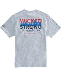 Vineyard Vines | 2018 Boston Strong Marathon T-shirt | Lyst