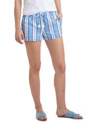 Vineyard Vines   Ocean Stripe Pull On Shorts   Lyst