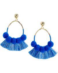 Vineyard Vines - Pom Pom & Tassel Earrings - Lyst