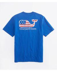 Vineyard Vines | Flag Whale Graphic T-shirt | Lyst