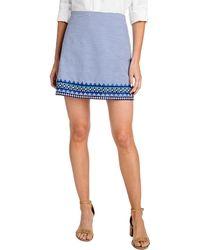 Vineyard Vines - Geo Prep Embroidered Margo Skirt - Lyst