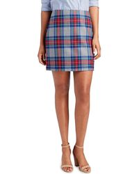 Vineyard Vines - Jolly Plaid Postage Stamp Skirt - Lyst