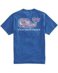 Vineyard Vines - Mermaids Whale Fill Pocket T-shirt - Lyst