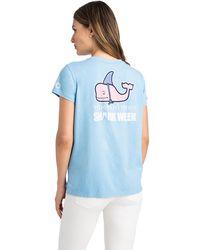 Vineyard Vines - Shark Week Decoy Whale Tee - Lyst