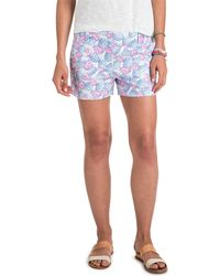 Vineyard Vines - 3 1/2 Inch Pineapple Printed Every Day Shorts - Lyst
