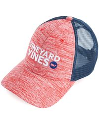 Vineyard Vines - Performance Space Dye Trucker Hat - Lyst