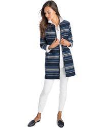 Vineyard Vines - Striped Woven Jacket - Lyst