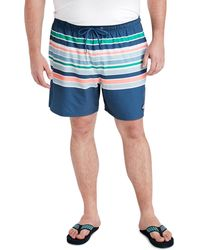 abb45a6600 Vineyard Vines Printed Gingham With Whale Embroidered Chappy Trunks ...