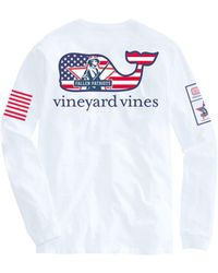 Vineyard Vines - Adult Long-sleeve Fallen Patriots T-shirt - Lyst