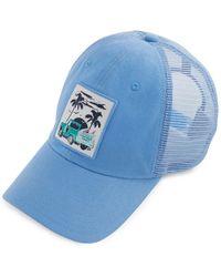 Vineyard Vines - Truck & Palm Patch Trucker Hat - Lyst