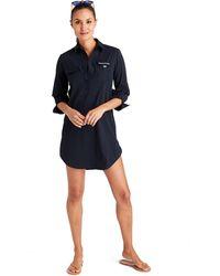 Vineyard Vines - Seersucker Harbor Shirt Cover-up - Lyst