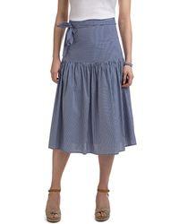 Vineyard Vines - Shirting Stripe Woven Skirt - Lyst