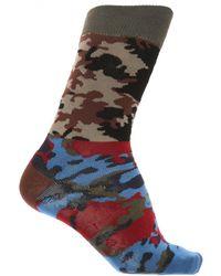 Gosha Rubchinskiy - Camo Socks In Camo Multi - Lyst