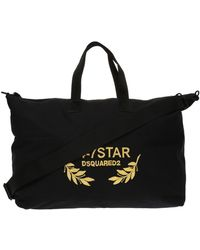 DSquared² - Appliqued Holdall - Lyst