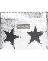 Stella McCartney - Card Case With Stars Motif - Lyst