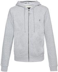 AllSaints | Hooded Sweatshirt | Lyst
