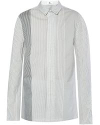 Lost & Found - Long Striped Shirt - Lyst