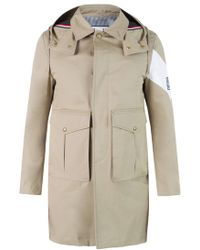 Moncler - Hooded Military Jacket - Lyst