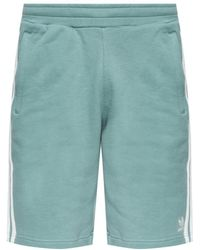 adidas Originals - Logo-embroidered Shorts - Lyst