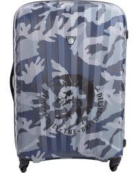 DIESEL - Camouflage Pattern Travel Bag - Lyst
