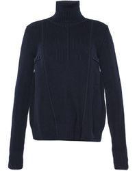 Diesel Black Gold Woven Turtleneck Sweater