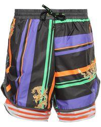 adidas Originals - Patterned Shorts - Lyst