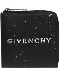 Givenchy - Wallet With A Printed Pattern - Lyst