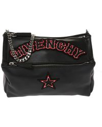 Lyst - Givenchy Mini Pandora Box Crossbody in Black 950675724670b