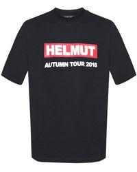 Helmut Lang - Logo-printed T-shirt - Lyst