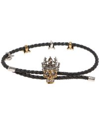 Alexander McQueen - Bracelet With Skull - Lyst
