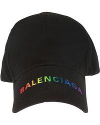 Balenciaga - Logo-embroidered Baseball Cap - Lyst