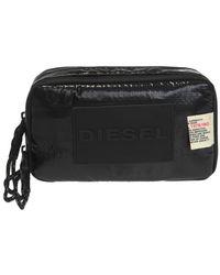 DIESEL - Branded Wash Bag - Lyst