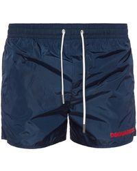 DSquared² - Printed Swim Shorts - Lyst