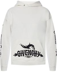 Givenchy - Logo Cotton Hoodie - Lyst
