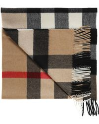 Burberry | Check Scarf | Lyst