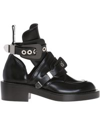 Balenciaga - Ceinture' Ankle Boots - Lyst