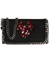f3da28050c3373 Stella McCartney Falabella Iphone 6 Mini Box Bag in Black - Lyst